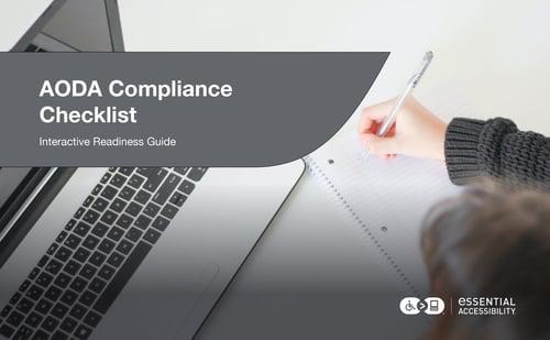 AODA Compliance Checklist