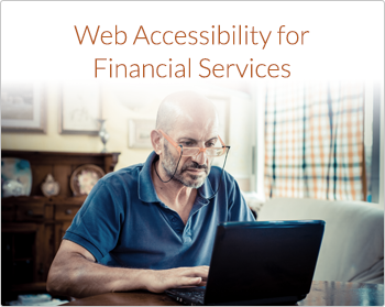 Web Accessibility for Financial Services